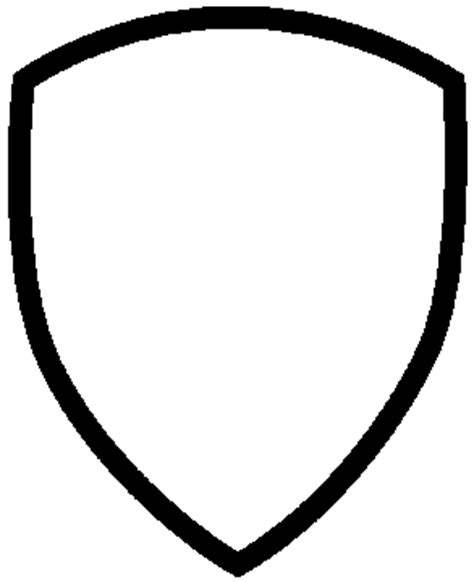 shield patch template shield template clipart best