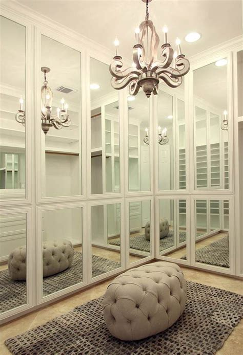 closet mirrored wallpaper dressing room dream walk in closet closets pinterest closets closet
