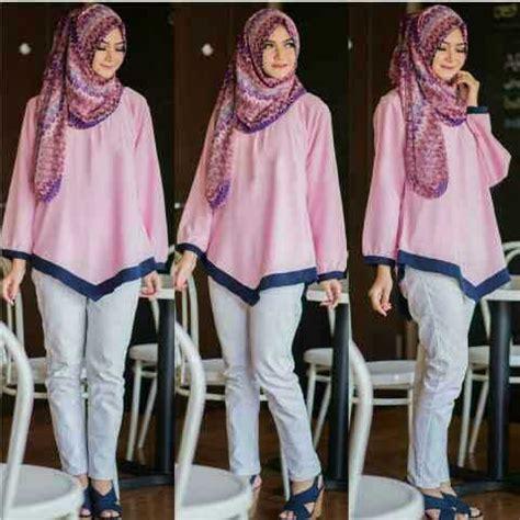 Atasan Rajut Impor Lengan Panjang Pink baju atasan wanita dewasa model terbaru lengan panjang modis