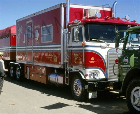 kenworth truck and trailer evel knievel s kenworth big rig semi truck and trailer 8 quot x