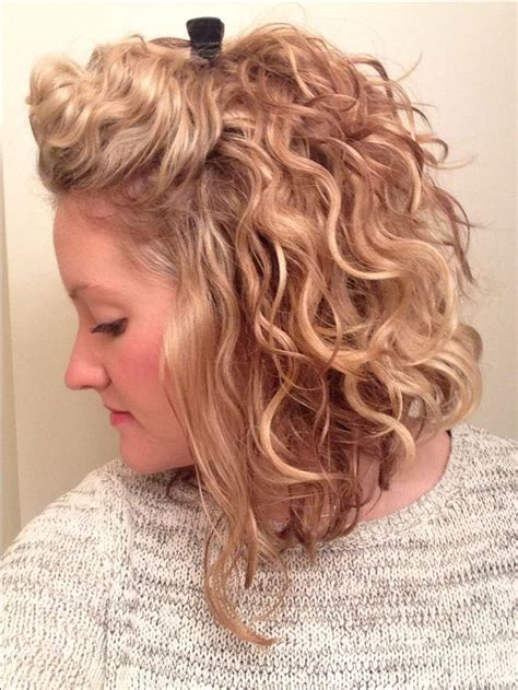 medium haircut to maximize a little curl curly short hair layers 5 short hairstyles 2018
