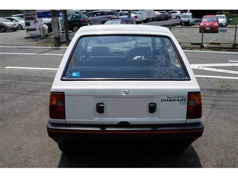Stopl Daihatsu G11 Charade 1984 80shero a most epic factory interior fabric challenger appears