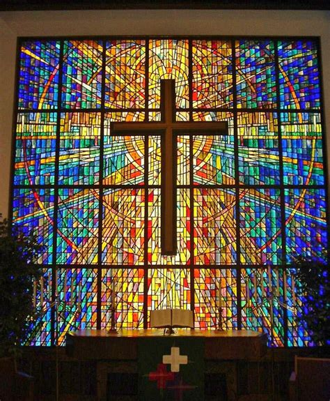 stained glass cross l religious stained glass dallas stained glass dallas