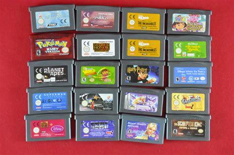 gameboy color for sale sale lot 20 nintendo boy advance incl