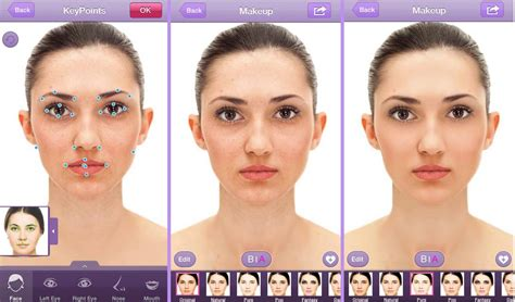 How To Change Hairstyle In Photoshop Touch by Give Your A Digital Makeover With Perfect365