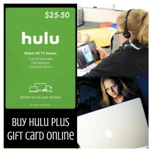 Hulu Gift Card - buy a hulu plus gift card online to watch the most popular tv shows today