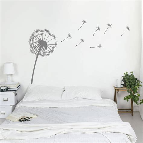 wall stickers for dandelion wall sticker by oakdene designs notonthehighstreet