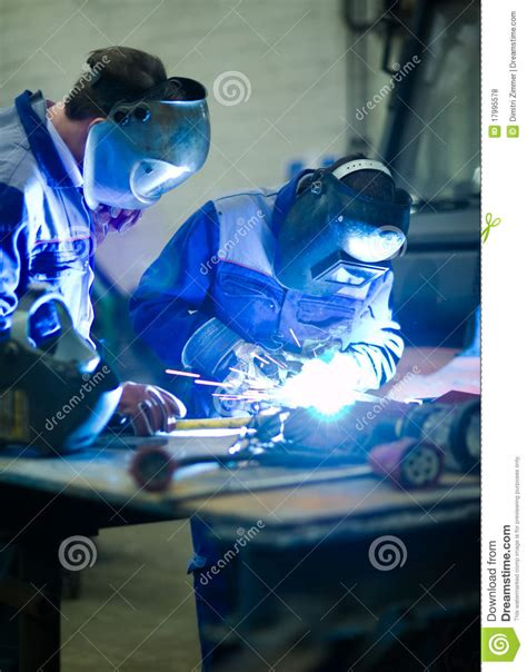 welder education royalty free stock photos