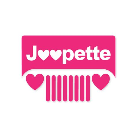 jeep heartbeat all things jeep jeepette heart grille decal