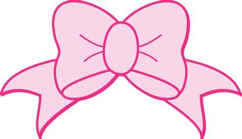light pink bow pink bow clip art at clker com vector clip art online