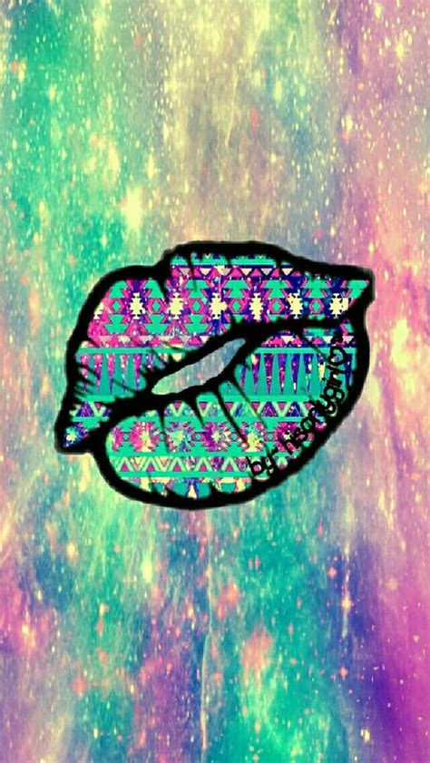 wallpapers galaxy vintage vintage lips galaxy wallpaper i created for the app