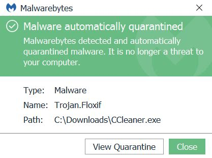 ccleaner trojan floxif ccleaner malware check if you are infected and remove the