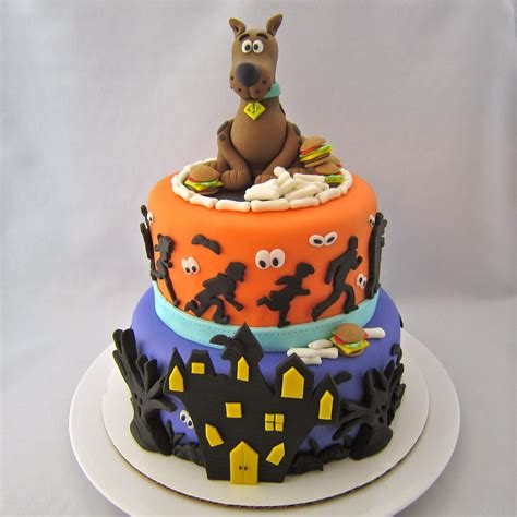 scooby doo cake template