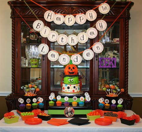 halloween themes for birthday party halloween first birthday halloween party ideas photo 3