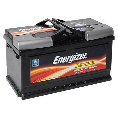 Auto Batterien by Energizer Autobatterie Premium Em80 Lb4 80 Ah 12 V