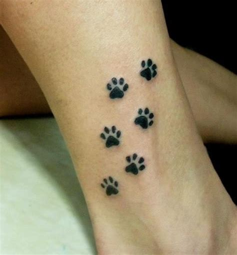 paw print designs for tattoos 27 paw tattoos images