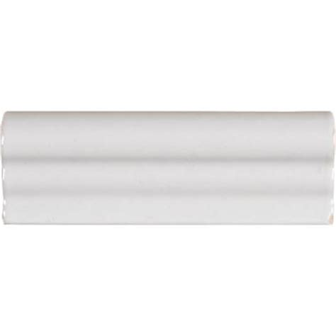 White Crown Molding Ms International Whisper White 2 In X 6 In Crown Molding