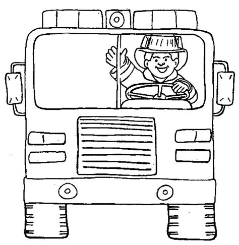Thank You Fireman Coloring Pages by Free Coloring Pages Of Firemen Thank You