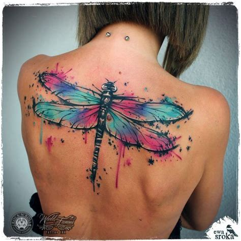 watercolor tattoo edmonton 17 best ideas about watercolor dragonfly on