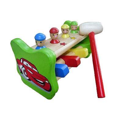 Blibli Mainan Anak | jual mainan edukasi palu badut mainan anak online harga