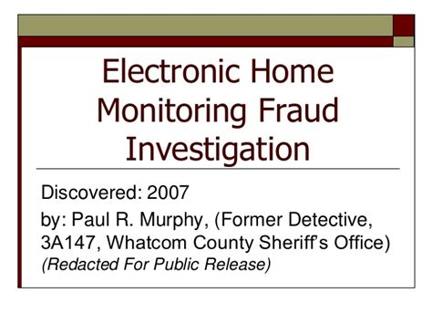 Whatcom County Court Records Search Whatcom County Electronic Home Monitoring Investigation