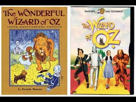 the wizard of oz book report the wizard of oz book vs