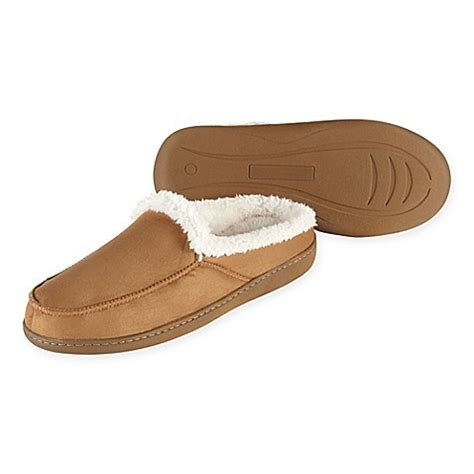 bed bath and beyond slippers refinery memory foam crossover slipper bed bath beyond