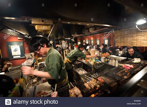 libro izakaya the japanese pub a traditional japanese izakaya japanese bbq bar stock photo royalty free image 79489762 alamy