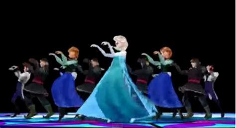 film frozen thriller frozen characters do the thriller dance geek world order