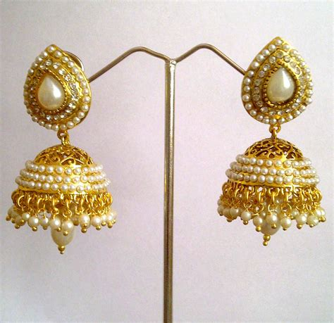 new fashion styles jhumka earring design 2013