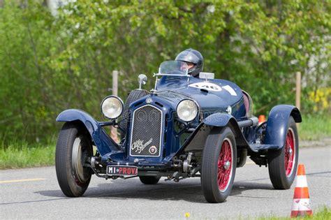 vintage alfa romeo race cars vintage pre war race car alfa romeo editorial stock photo