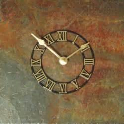 Unique Wall Clock Com Unusual Rustic Stone Wall Clocks