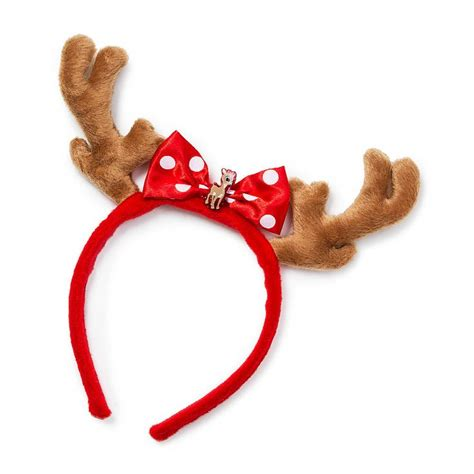 rudolph the red nosed reindeer clarice antlers headband