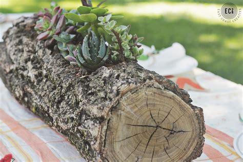 Wedding Log by Succulent Wedding Flowers Diy Ideas For Centerpieces