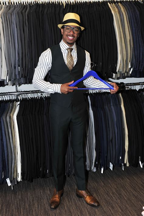 mens warehouse nick cannon teams with s wearhouse for it s 9th annual suit drive nick cannon