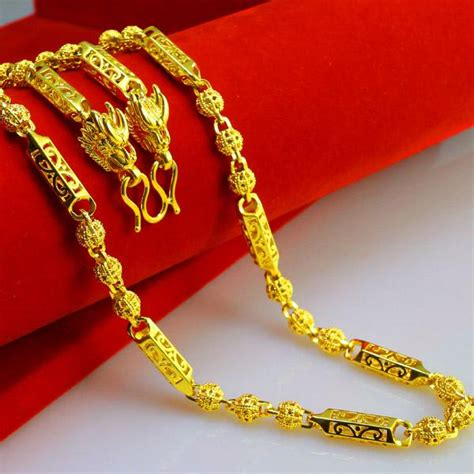 design online marketing caign do not fade thailand leading chain gold necklace gold