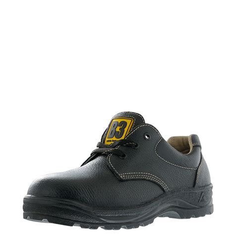 safety shoes 4 low cut lace up safety shoes black safety shoes econ