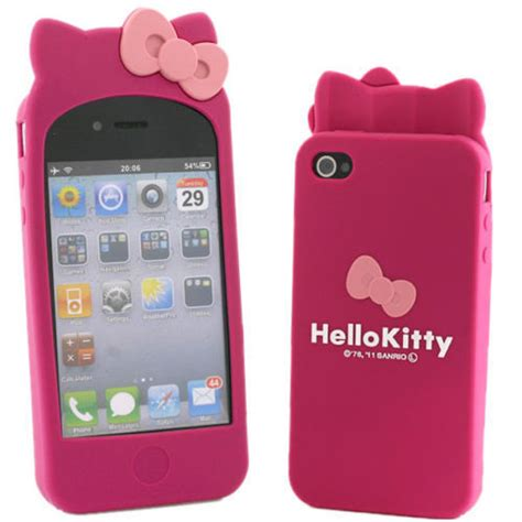 Softcase Hello Iphone 4g 4s new hello rubber silicone cover for iphone