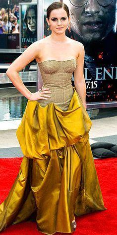 emma watson yellow dress media monday the new belle kathrynmenue