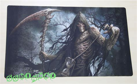 Magic The Gathering Mat by A739 Free Mat Bag Grim Reaper Trading Card Playmat Desk Mat Large Mouse Pad Ebay