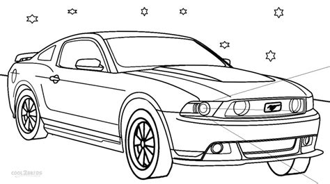 coloring pages cars mustang printable mustang coloring pages for cool2bkids