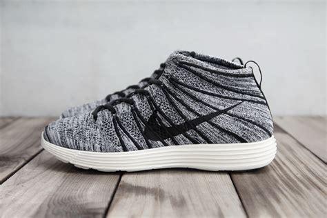 Nike Flyknit Chukka Black nike lunar flyknit chukka black white sail hypebeast