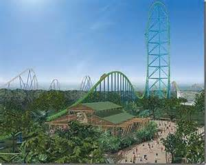 Scariest rides and roller coasters kingda ka ten scariest rides