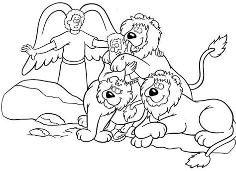 printable coloring pages daniel and the lions den daniel and the lions den coloring page daniel coloring