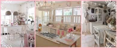 attraente Cucine Shabby Chic #1: cucine-total-white-shabby-chic-con-accenti-di-colore.jpg?fit=1401%2C574