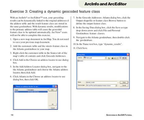 tutorial geocoding arcgis geocoding in arc gis tutorial