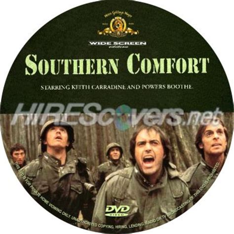 southern comfort blu ray dvd cover custom dvd covers bluray label movie art dvd