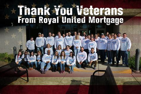 royal united mortgage llc committed to helping veterans