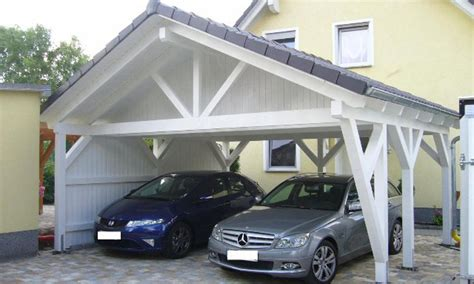 Carport Satteldach by Satteldach Carport Holzgaragen Als Individueller Bausatz