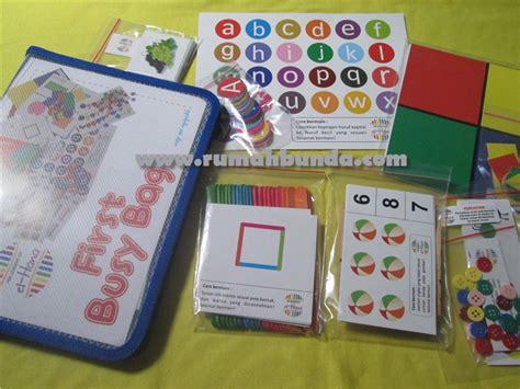 El Hana Busy Bags Learning Kit jual busy bag by el hana learning kit rumah bunda
